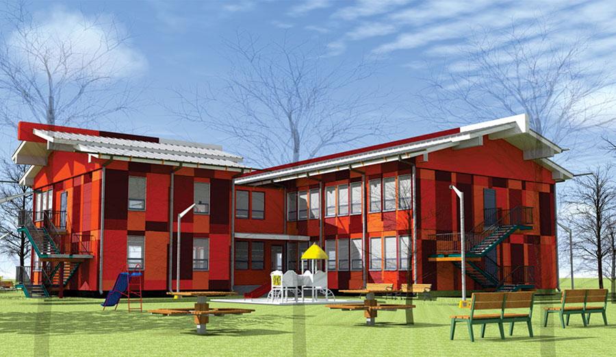 150 хүүхдийн цэцэрлэгийн барилга