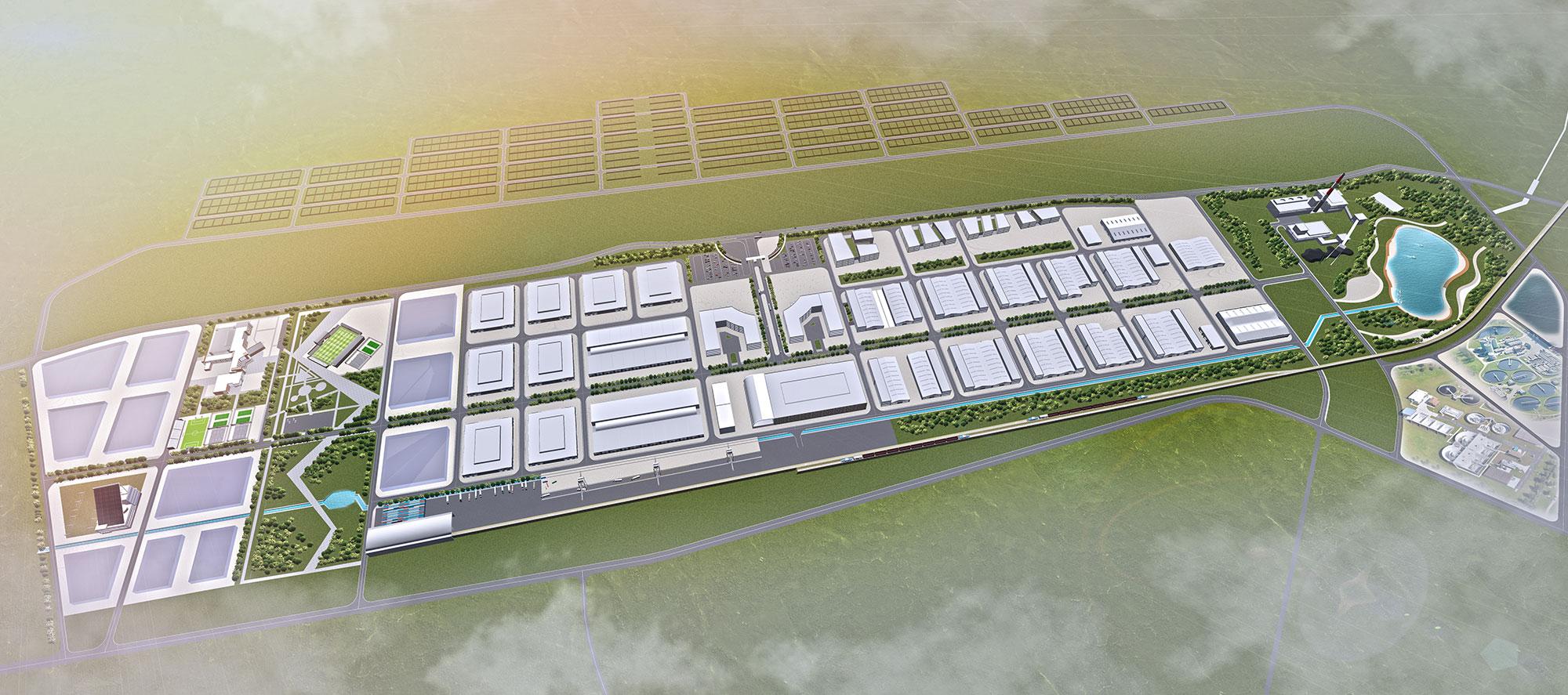 Эмээлтийн хөнгөн үйлдвэрийн үйлдвэрлэл, технологийн паркийн хэсэгчилсэн ерөнхий төлөвлөгөө